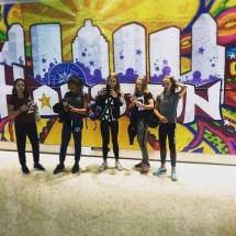 Laura de Witt 2016 USA Houston WCC Grafitty