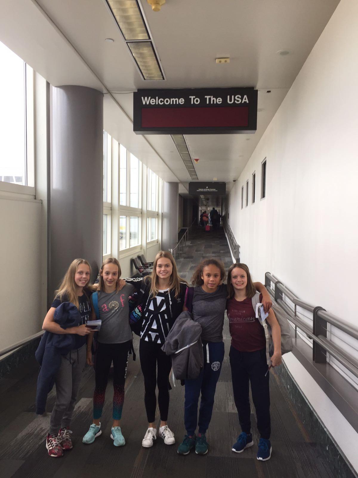 Laura de Witt 2016 USA Houston Airport