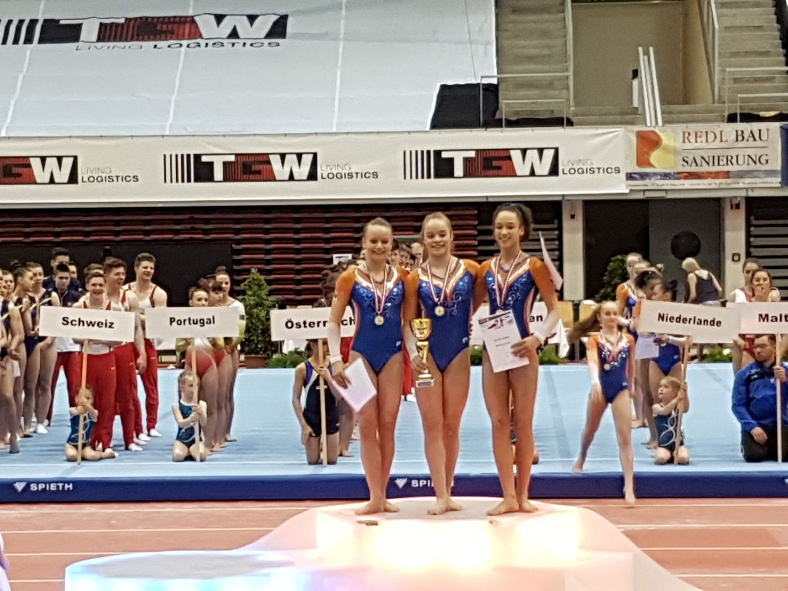 Open Team Kampioenschap Oostenrijk, Linz 2018 Prijsuitreiking Individueel